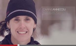Carine Annecou <br/> ingénieure forestière